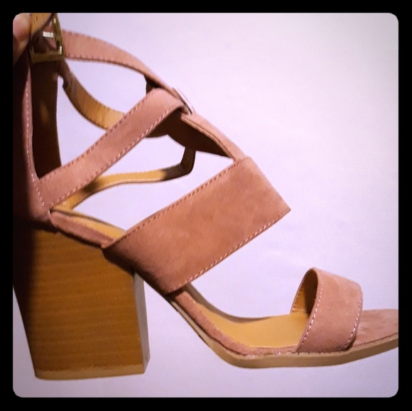 Charlotte Russe Shoes - Charlotte Russe Chunky Heel Sandle